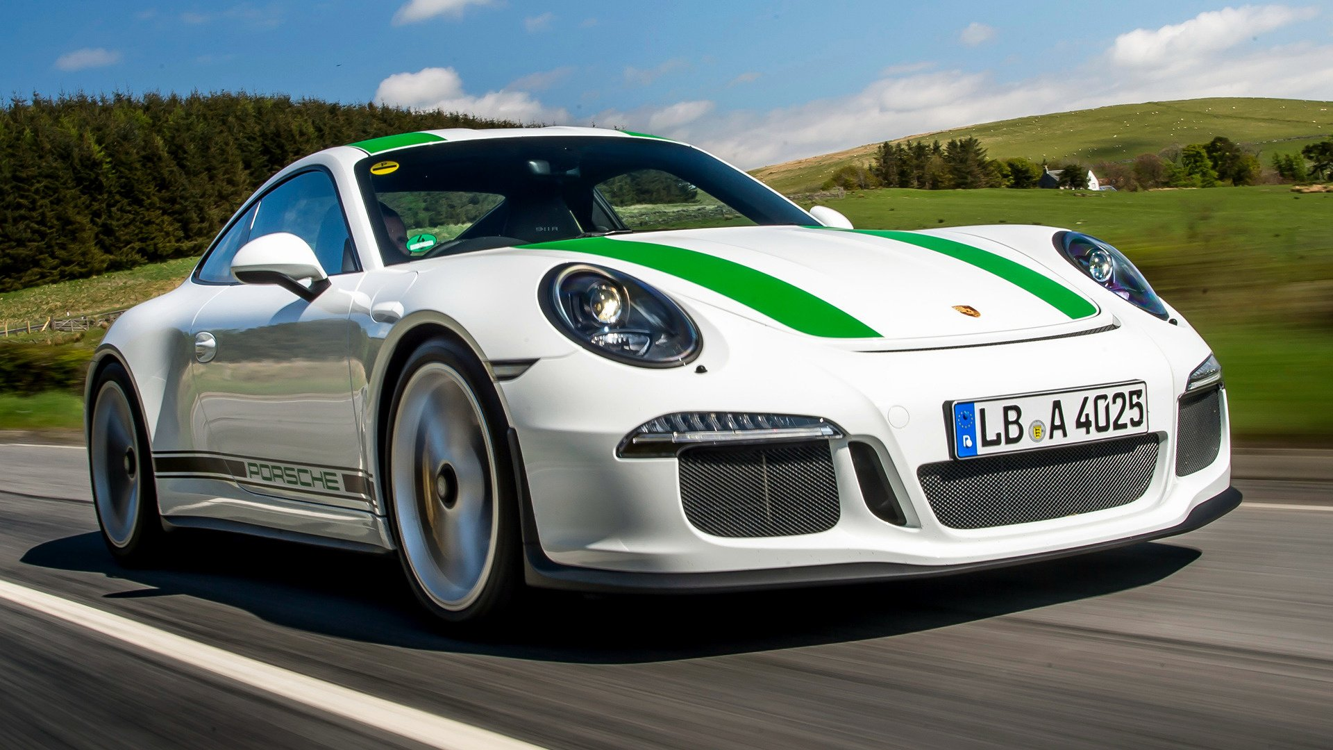 Porsche 911 R 2016 UK Wallpapers and HD Images   Car Pixel 1920x1080