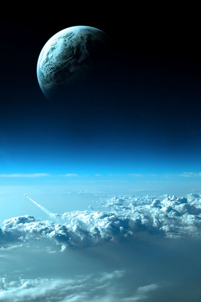 Beautiful Space View Simply beautiful iPhone wallpapers 640x960
