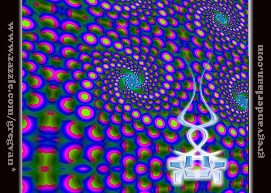 Psychedelic Smoke Wallpaper Trippy Alien Wallpaper...