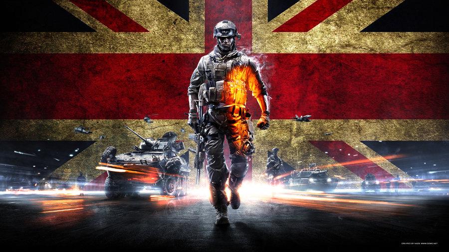 Battlefield 3 Wallpaper UK 1080p by GuMNade 900x506