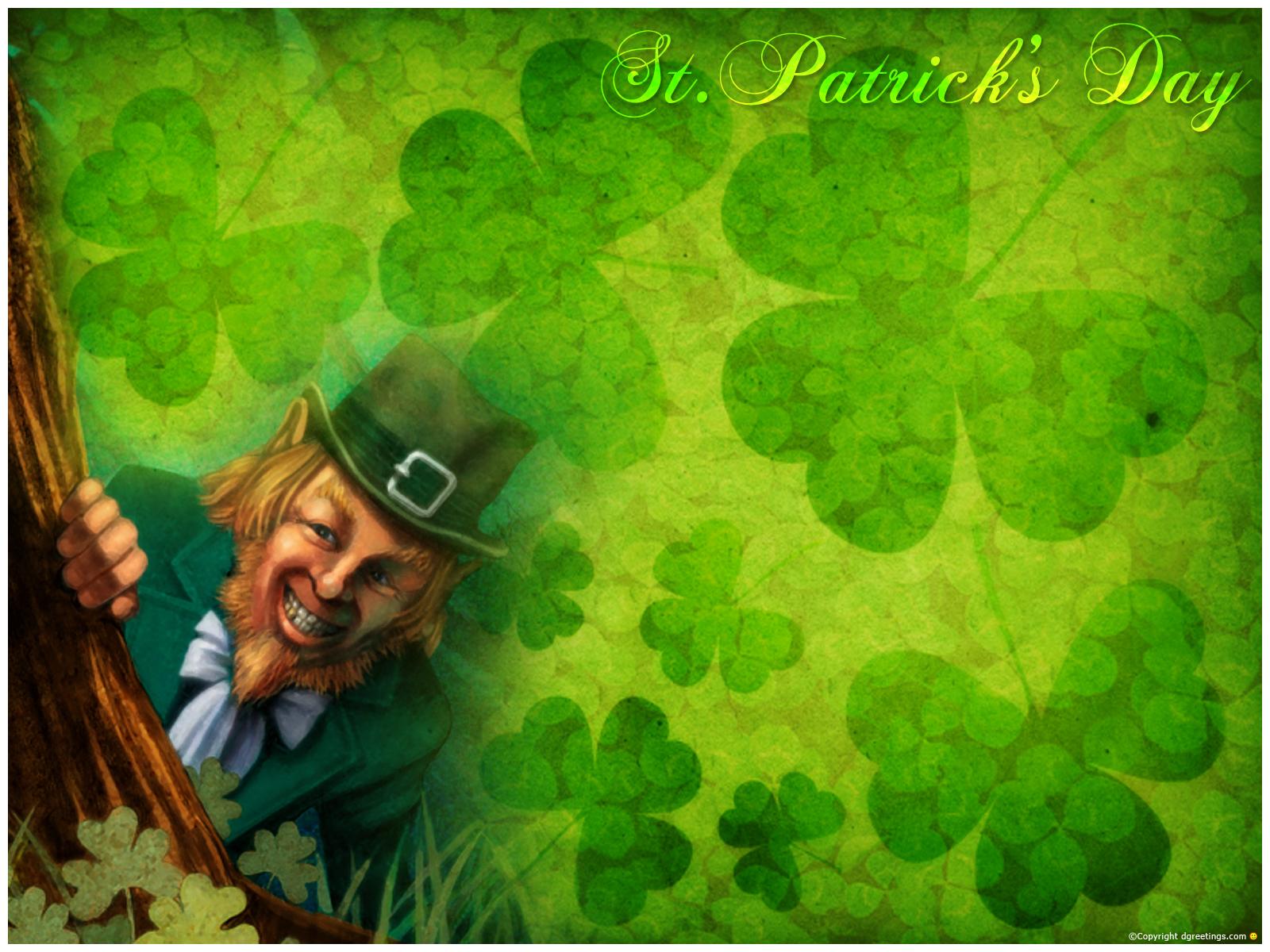 httpwwwsmscscomphotost patrick day desktop backgrounds20html 1600x1200