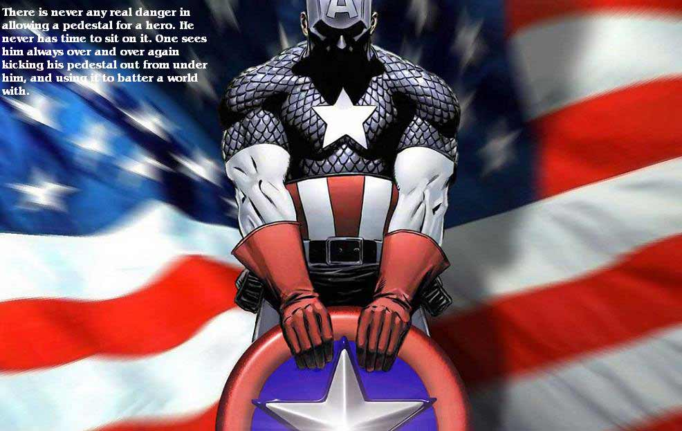 Captain America Screensavers and Wallpaper 986x623