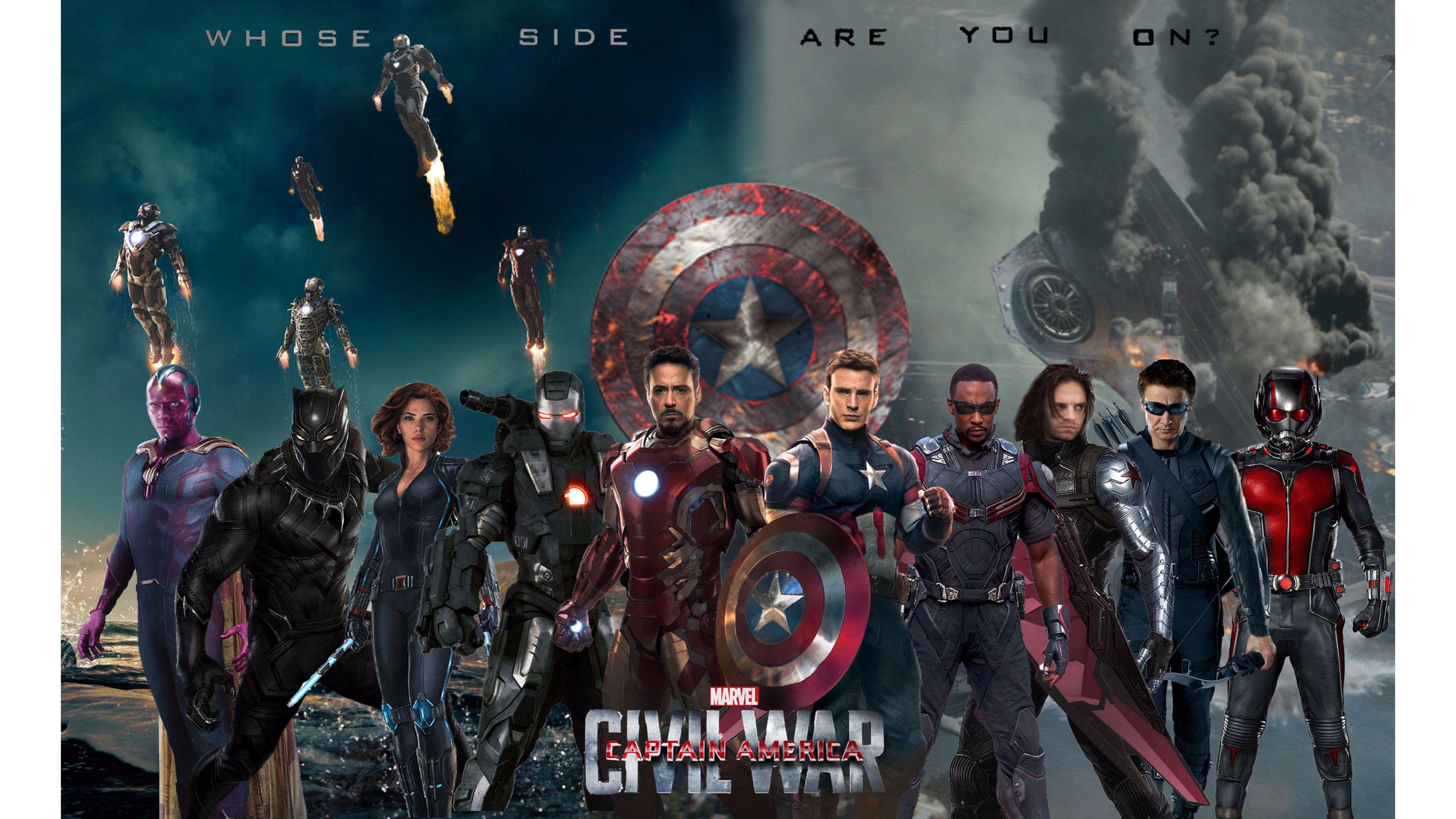 Captain America Civil War Wallpapers Hd: 4K Captain America Wallpaper