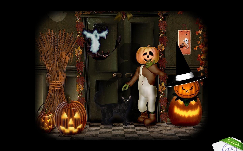 Artsy Halloween Scenes Screensaver Capturas de pantalla la galera 1440x900
