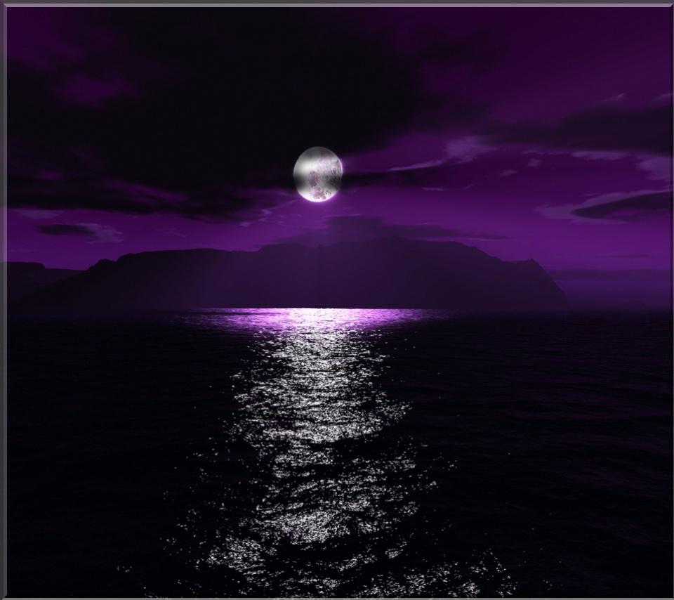 Dark Purple Wallpaper