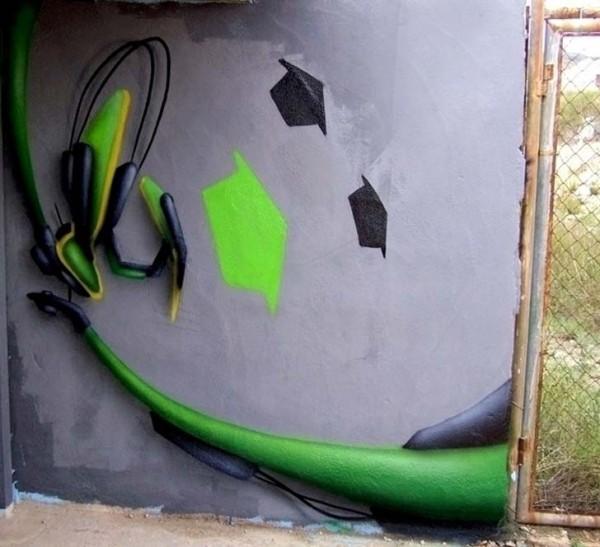 Graffiti Wallpapers Creator Artist Daim Graffiti Alphabet Letters 600x547