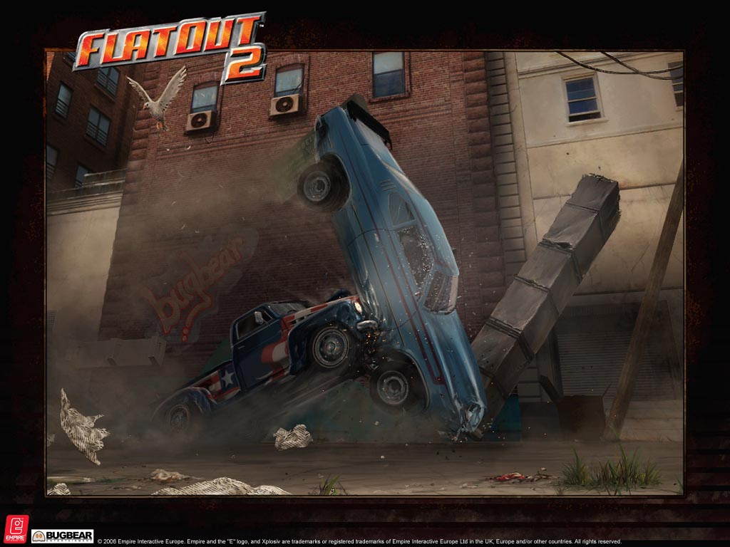 car crash flatout 2 wallpaper car crash wallpaper car crashjpg 1024x768