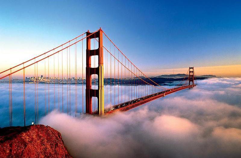 XP wallpaper wallpaper Golden Gate Bridge 800x527