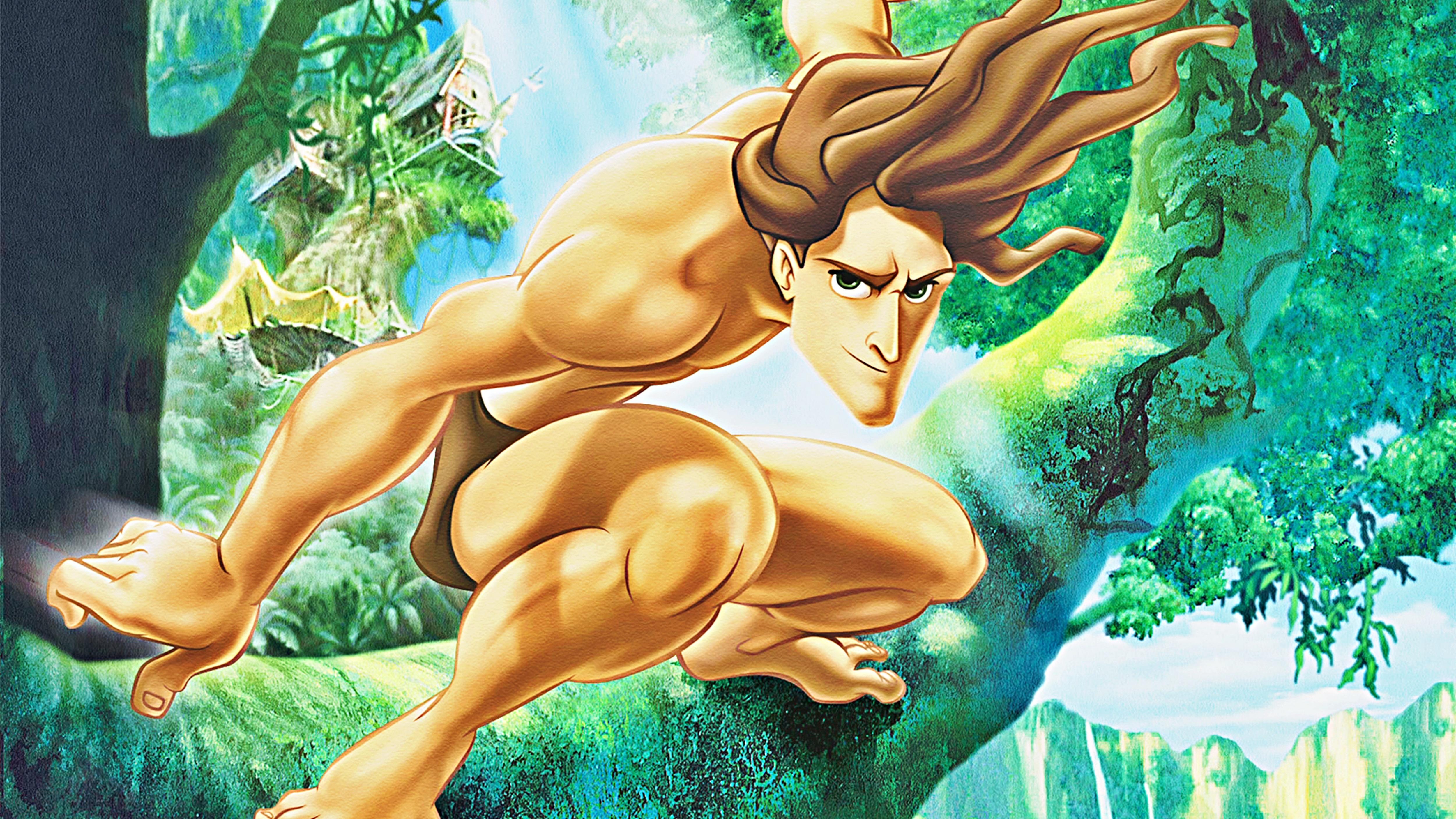 Walt Disney Wallpapers   Tarzan   Walt Disney Characters Wallpaper 5000x2813