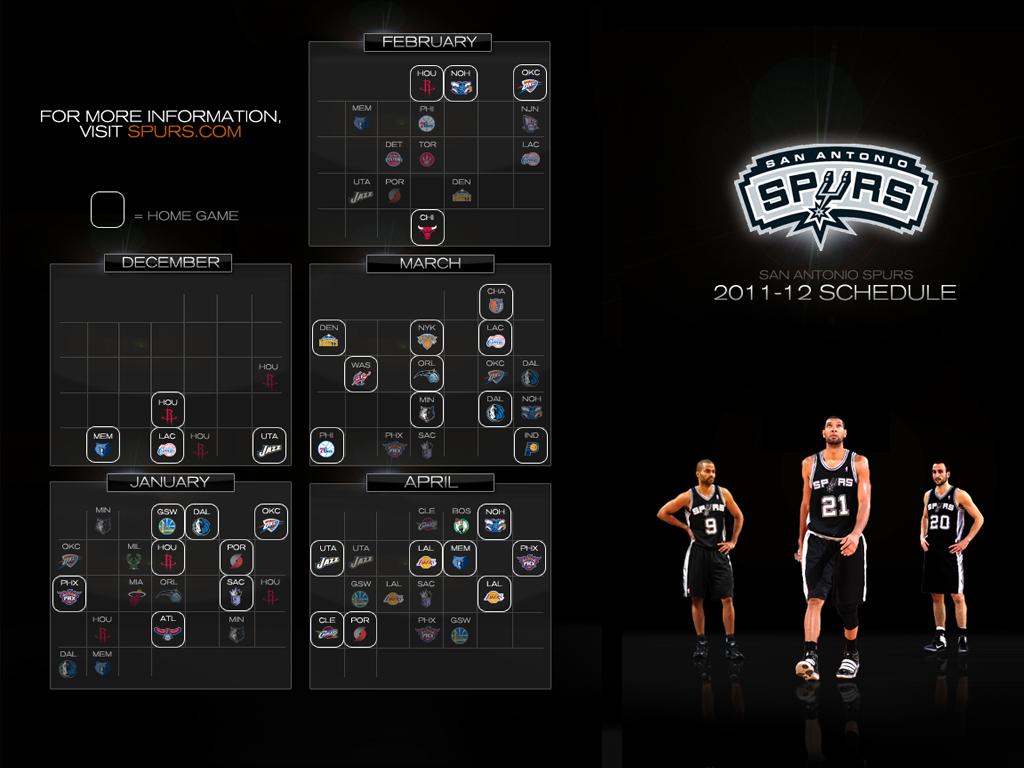 photo about San Antonio Spurs Schedule Printable titled 49+] San Antonio Spurs Program Wallpaper upon WallpaperSafari