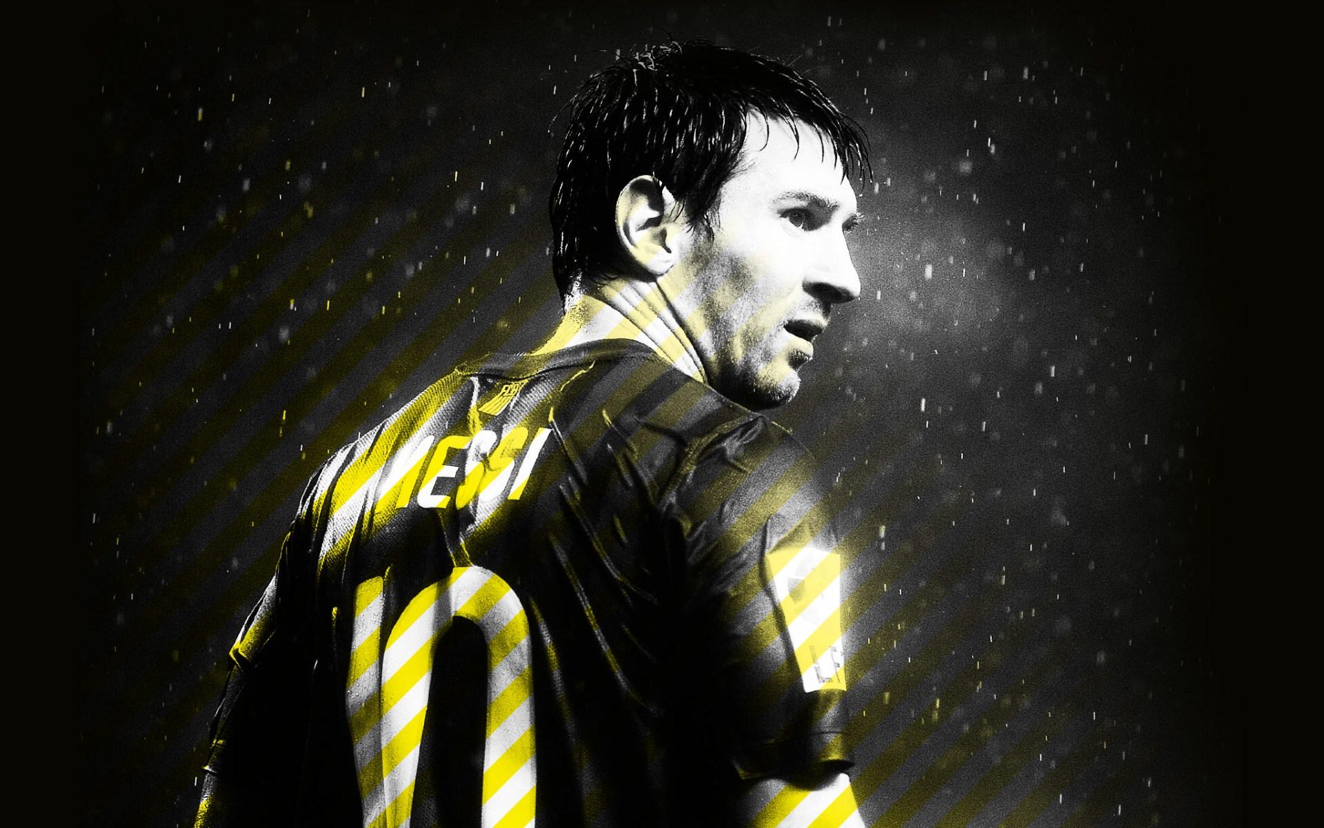 Wallpaper Lionel Messi 2014 1920x1200