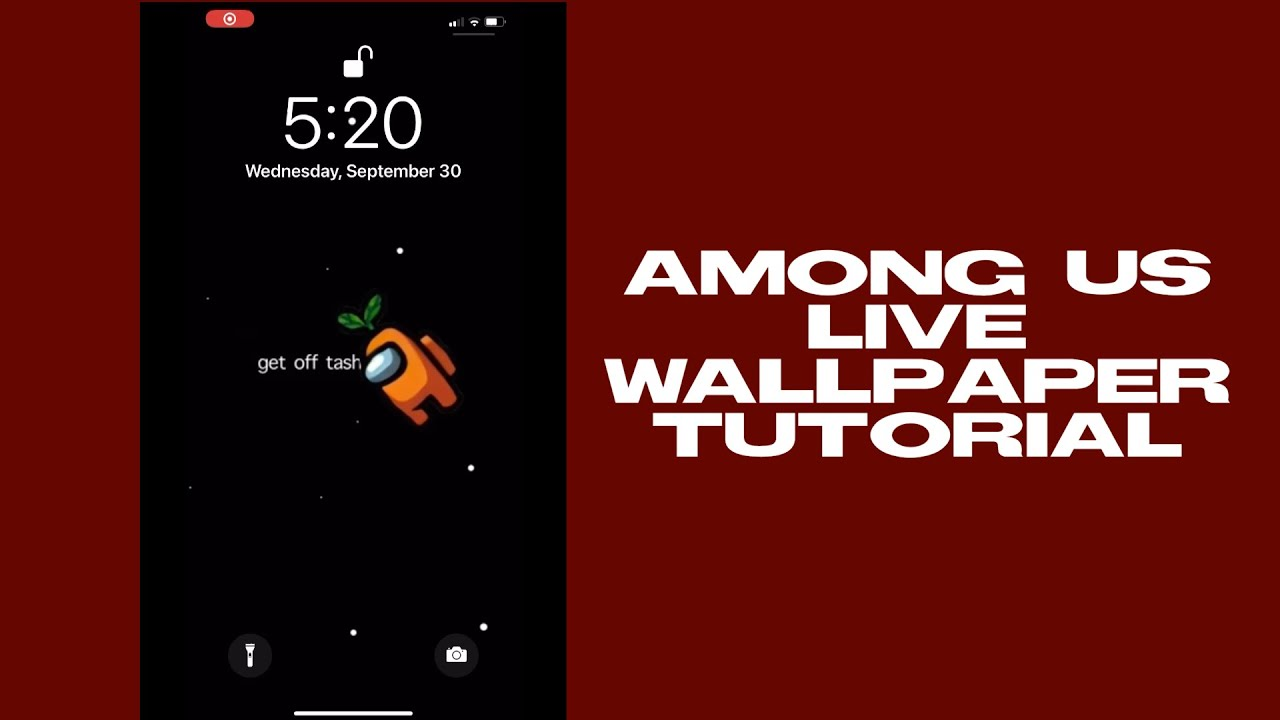 Make Your Own Among Us Live Wallpaper Capcut Tutorial Legittricks Youtube
