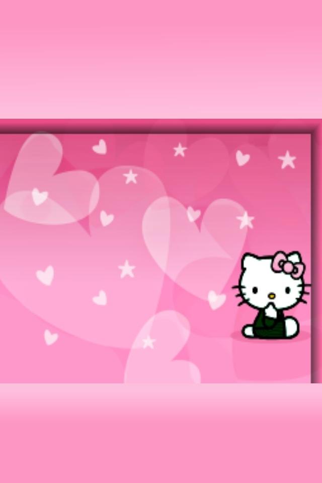 Hello Kitty Lock Screen Wallpaper Wallpapersafari