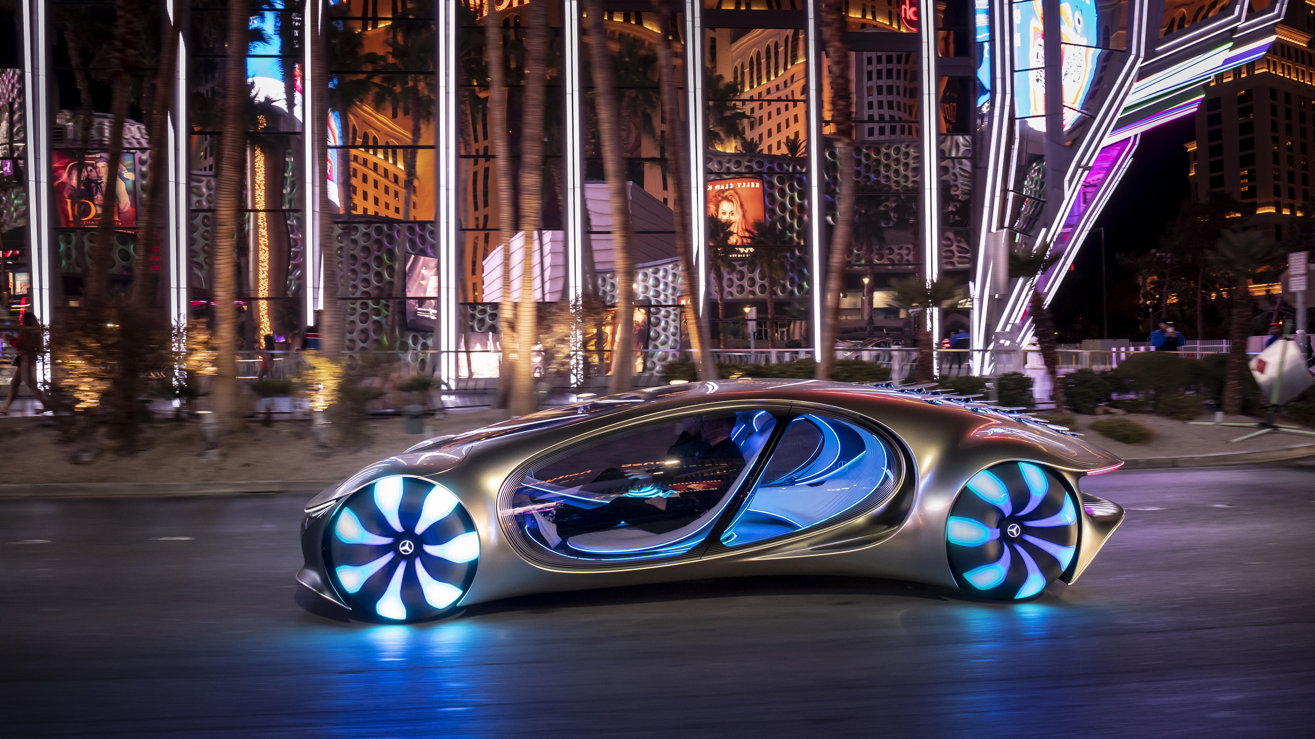 2020 Mercedes Benz VISION AVTR 5K Wallpaper HD Car Wallpapers 5120x2880