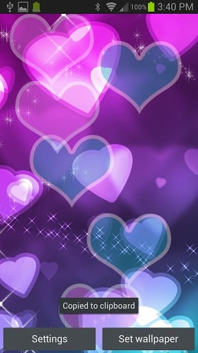 View bigger   Hearts Live Wallpaper for Android screenshot 288x512