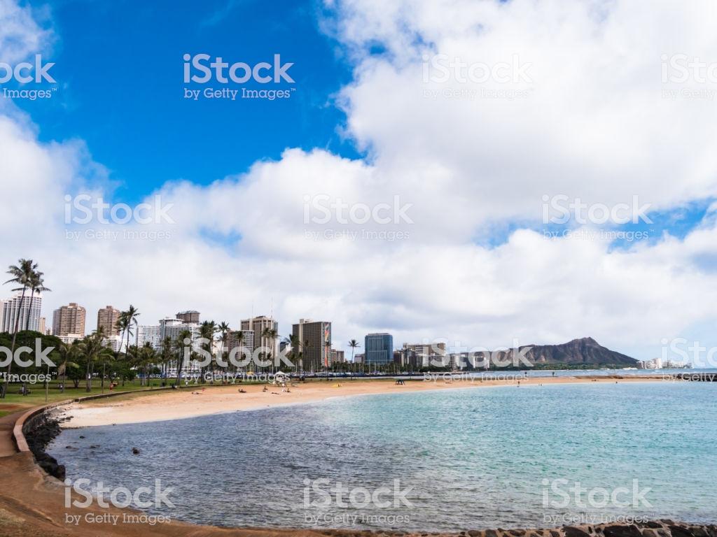 Magic Island Lagoon At Ala Moana Beach Park Waikiki Honolulu Oahu 1024x768