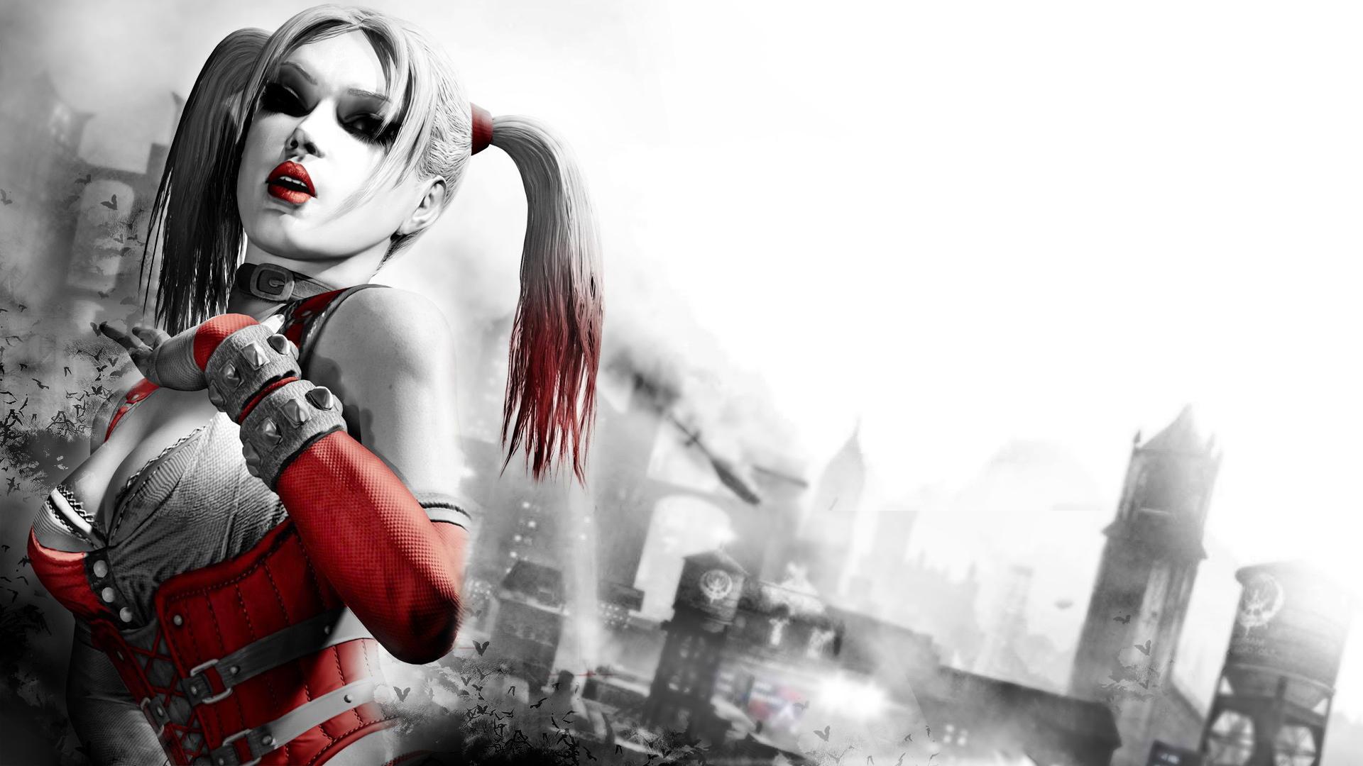 Batman Arkham City Harley Quinn wallpaper   876176 1920x1080