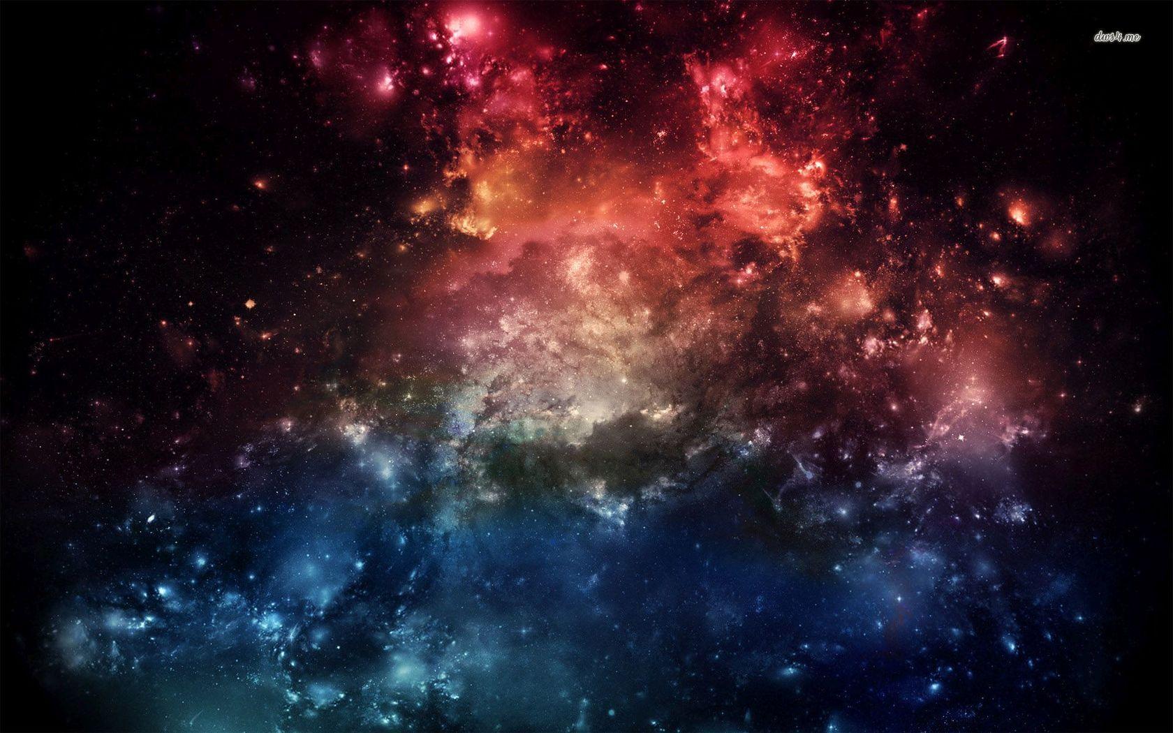 space nebula red - photo #28