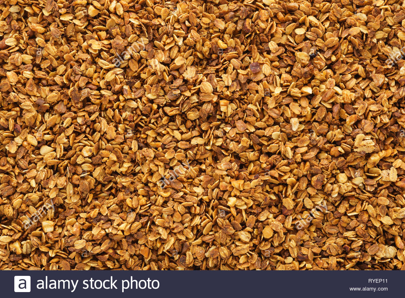 Homemade healthy granola with oats nuts and honey Granola 1300x956