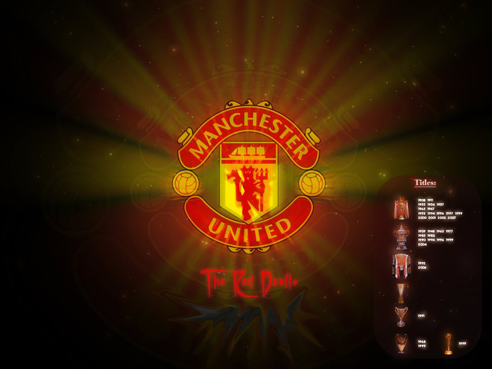 Football Updates Fantasy Games Best of Machester United Wallpapers 1600x1200