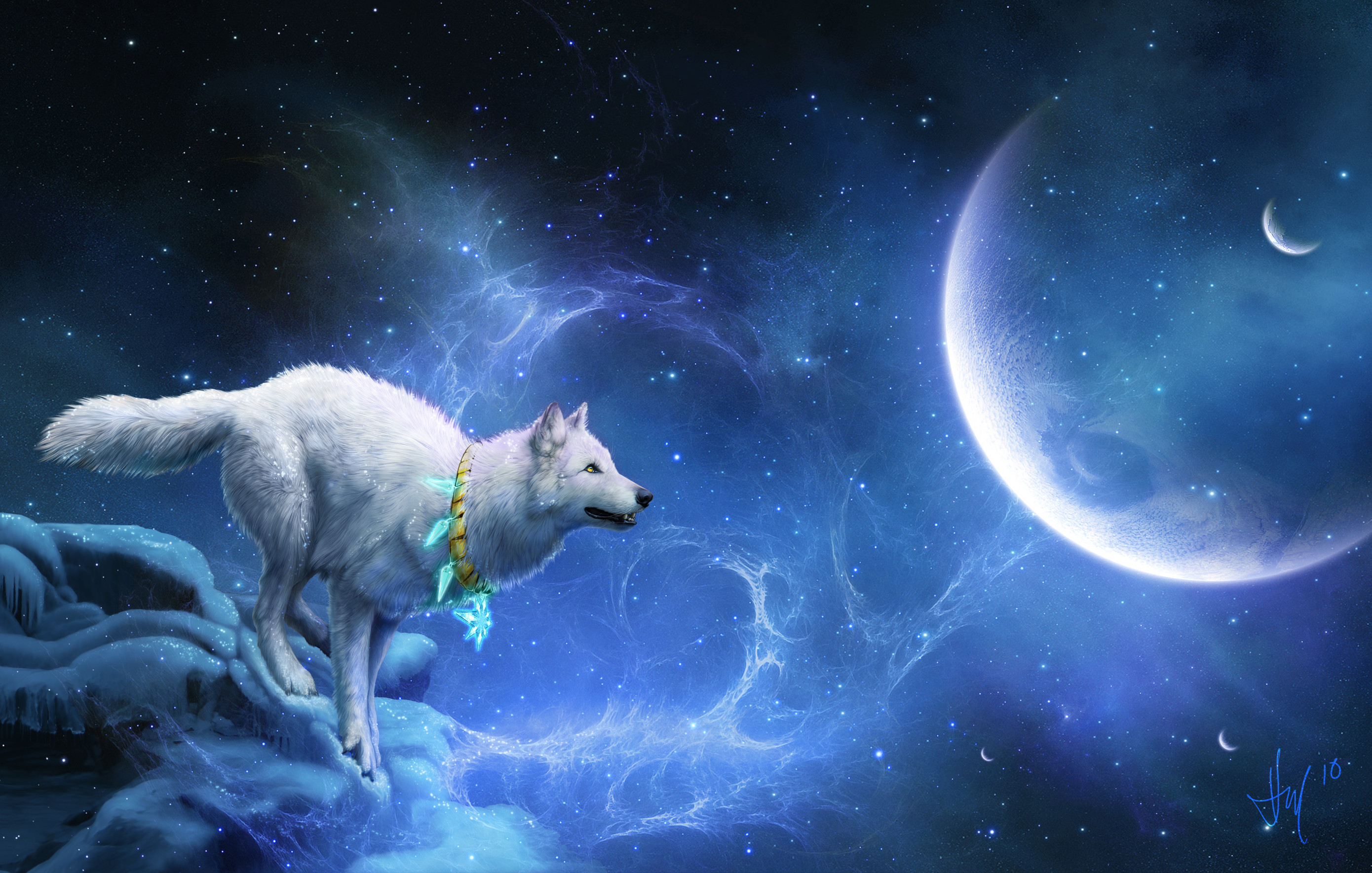 60 Wolf Dreamcatcher Wallpapers on WallpaperPlay 2780x1769