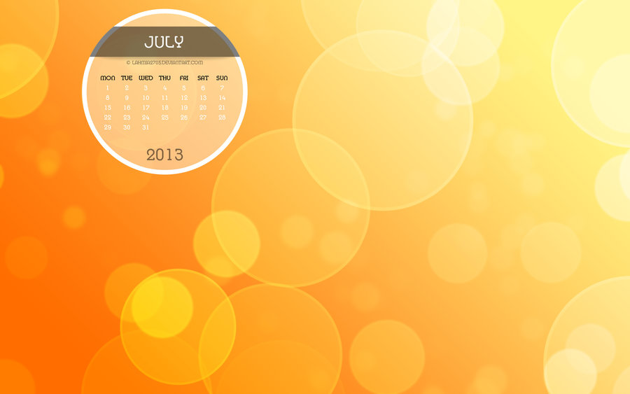 july calendar wallpaper   weddingdressincom 900x563