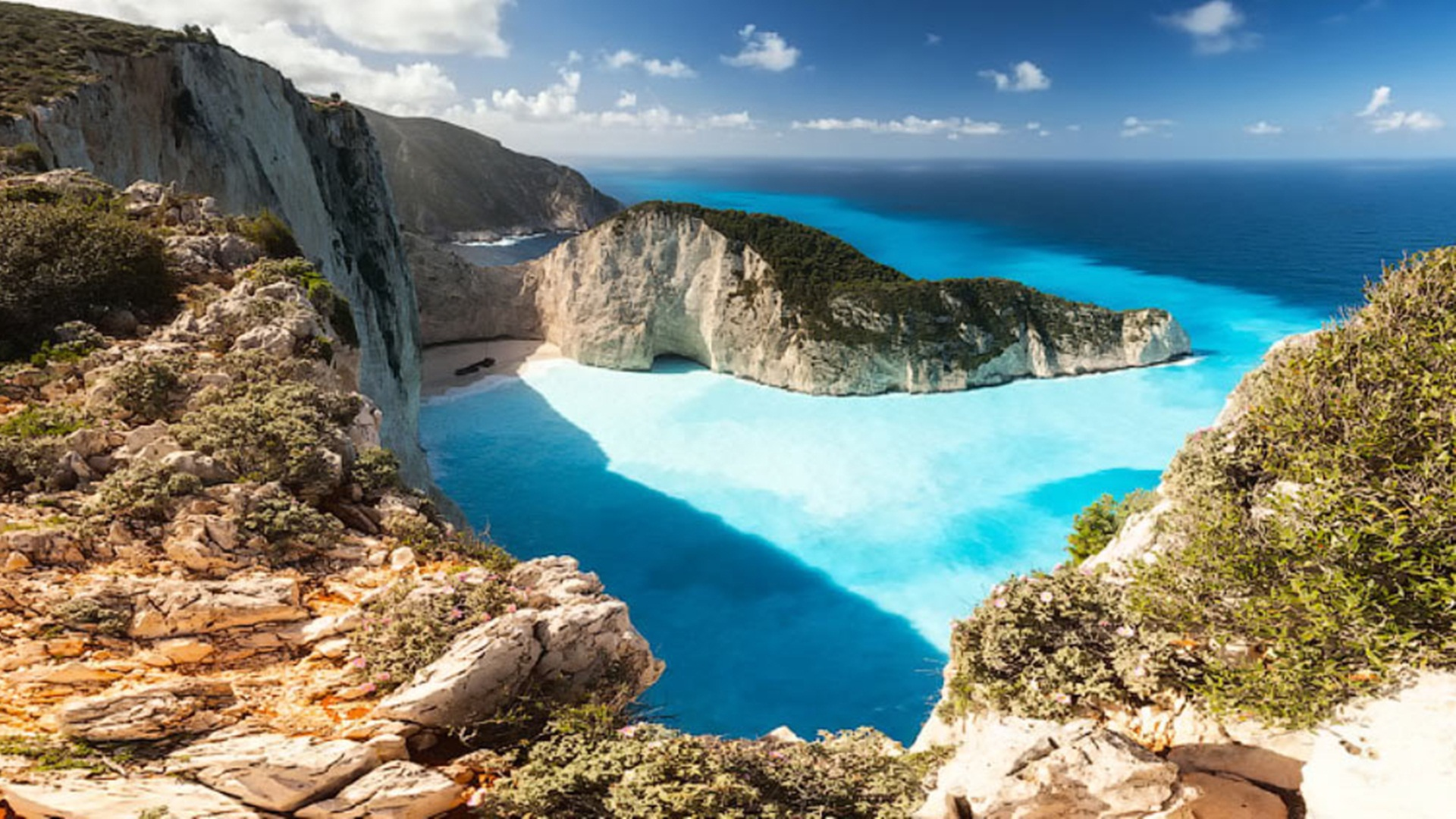 Blue Caves Zakynthos Island Greece Best Wallpaper 27151   Baltana 1920x1080
