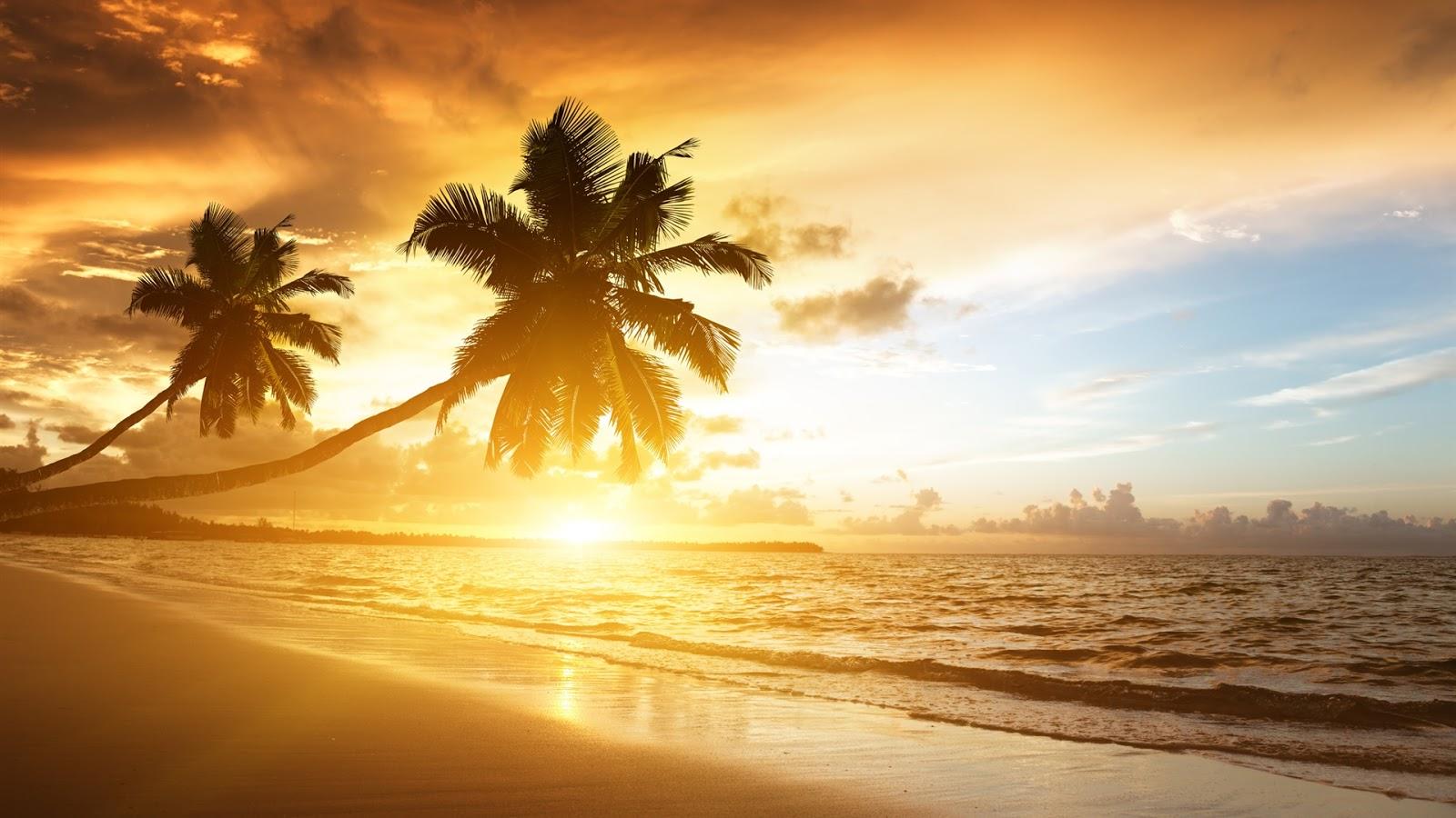 Caribbean Coast Scenery Full HD Desktop Wallpapers 1080p 1600x900