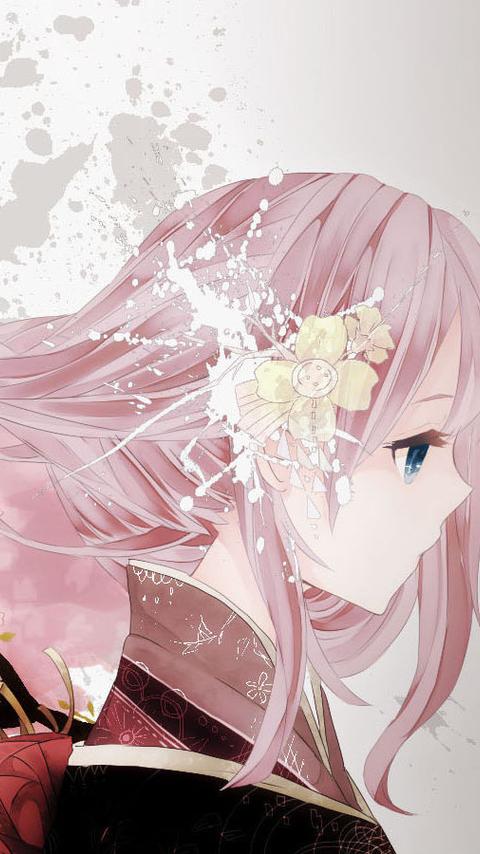 The Japanese anime mobile phone wallpaper4 hdwallpaperbackground 480x854