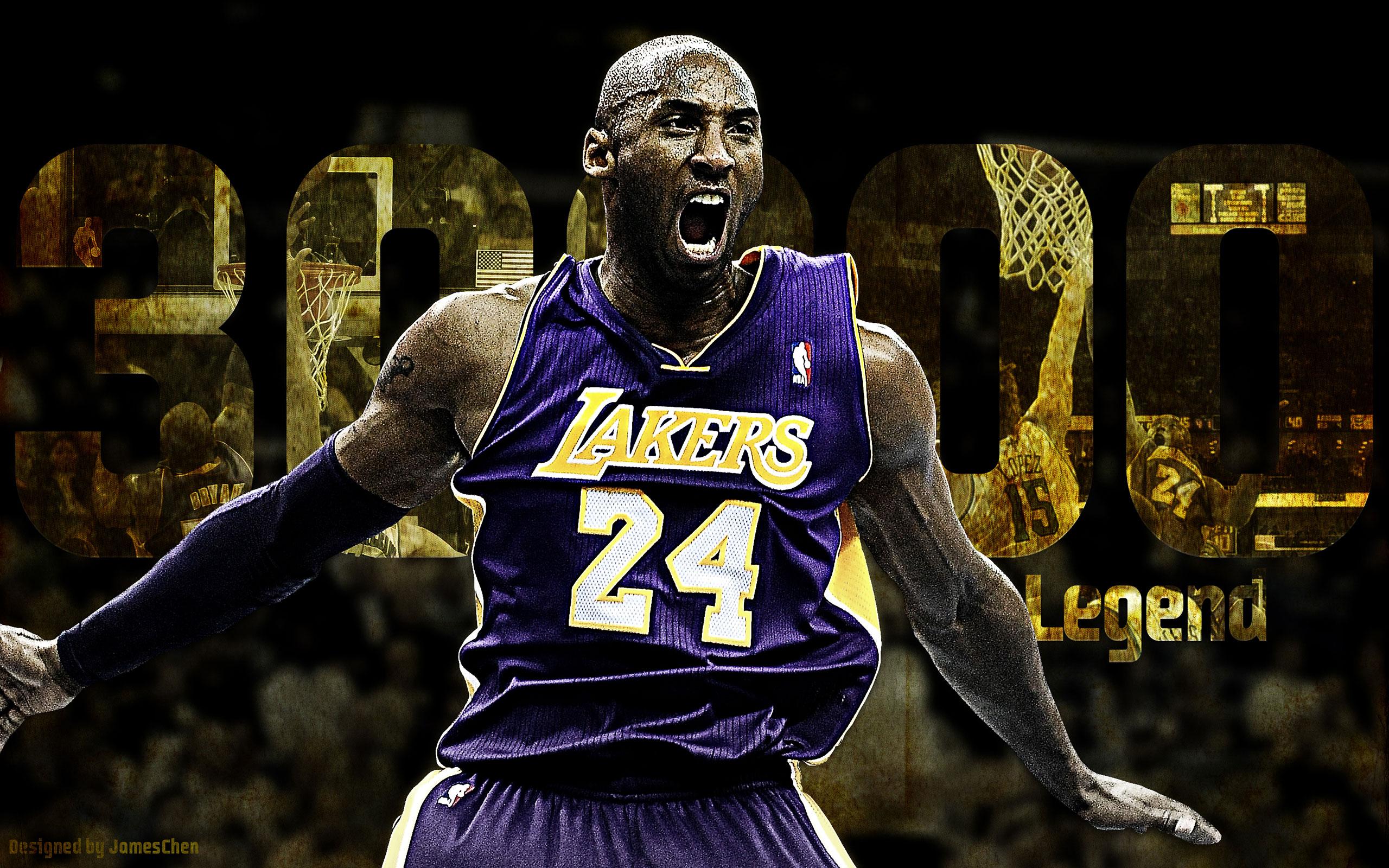 Kobe Bryant 30000 Points Celebration HD Wallpaper 3193 2560x1600
