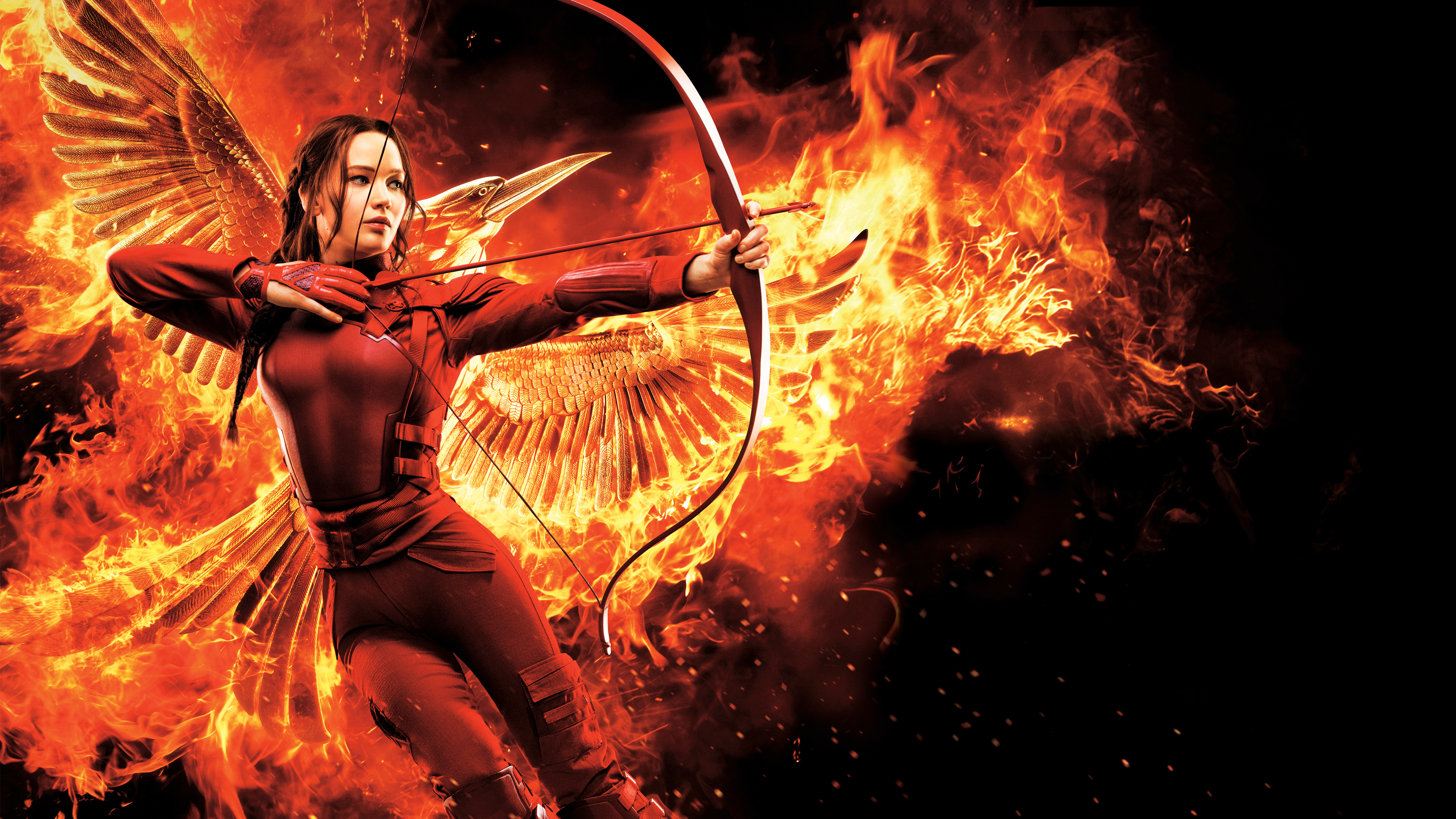 The Hunger Games Mockingjay Part 2 Katniss Wallpapers HD Wallpapers 3840x2160