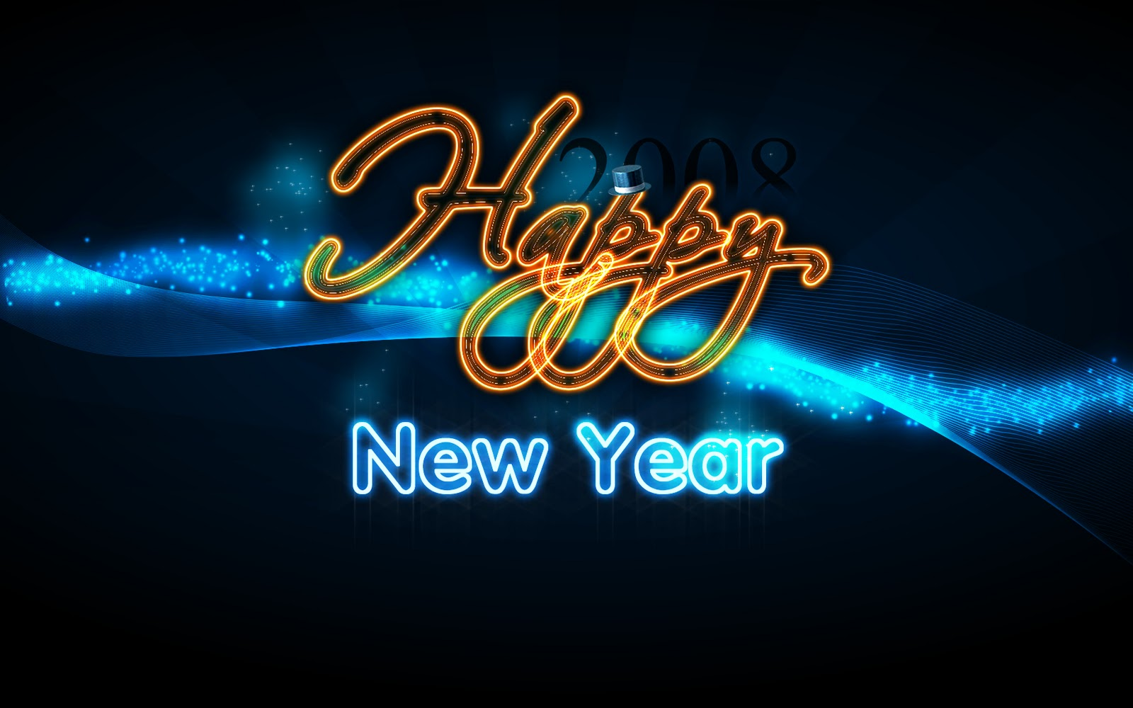 Happy New Year 2013 Wallpapers 3D Wallpaper Nature 1600x1000