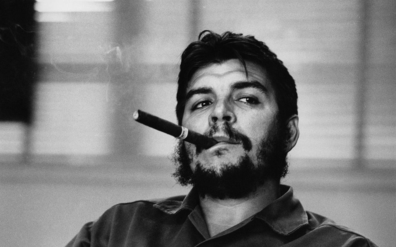 Images Men Moustache Che Guevara Beard Face Celebrities 1280x800
