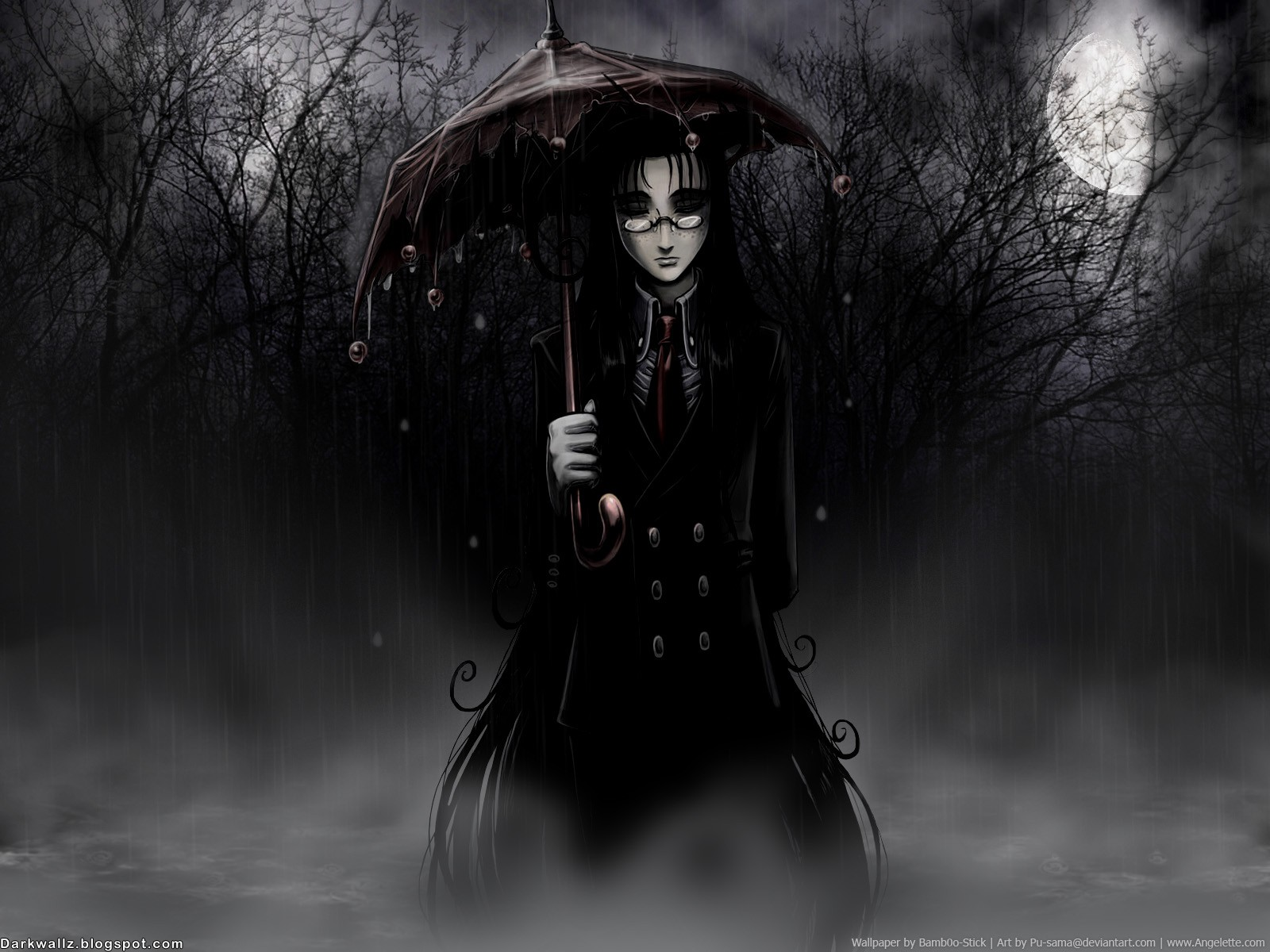 Dark Girls Wallpapers 06 Dark Wallpapers High Quality Black Gothic 1600x1200