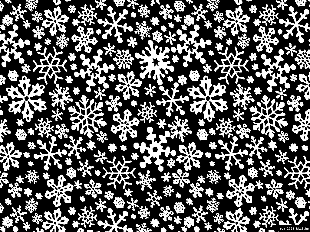 Black And White Snowflake Background 9630 Hd Wallpapers in Others 1024x768