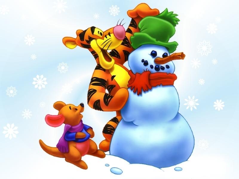 Winnie the Pooh Christmas - Christmas Wallpaper (2735512) - Fanpop