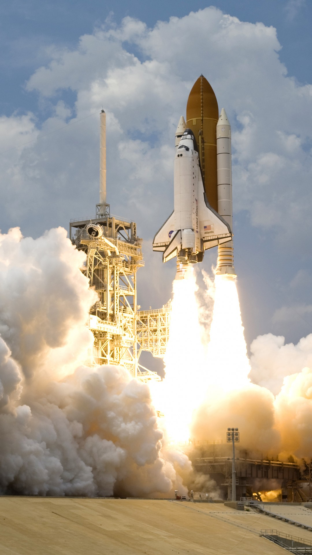 Space Shuttle Launch iPhone 6 6 Plus and iPhone 54 1080x1920