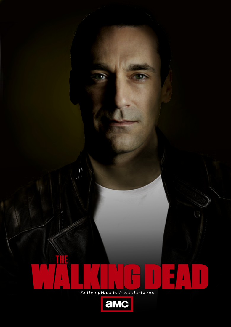 Free Download The Walking Dead Negan Jon Hamm By Anthonygarick