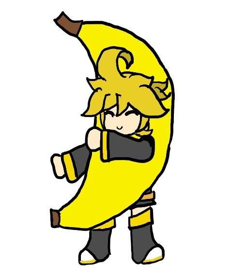 Len  Dancing Banana Gif by PsychicPhantom 510x573
