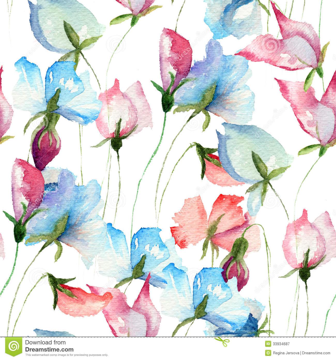 Sweet Pea Wallpaper Wallpapersafari