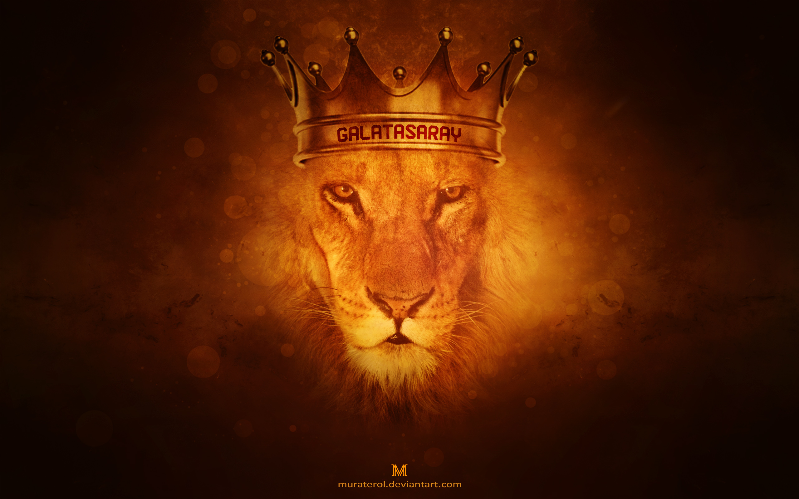 galatasaray lion wallpaper by muraterol fan art wallpaper movies tv 2560x1600