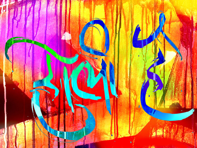 Happy Holi Hindi Wallpapers holi on Rediff Pages 640x480