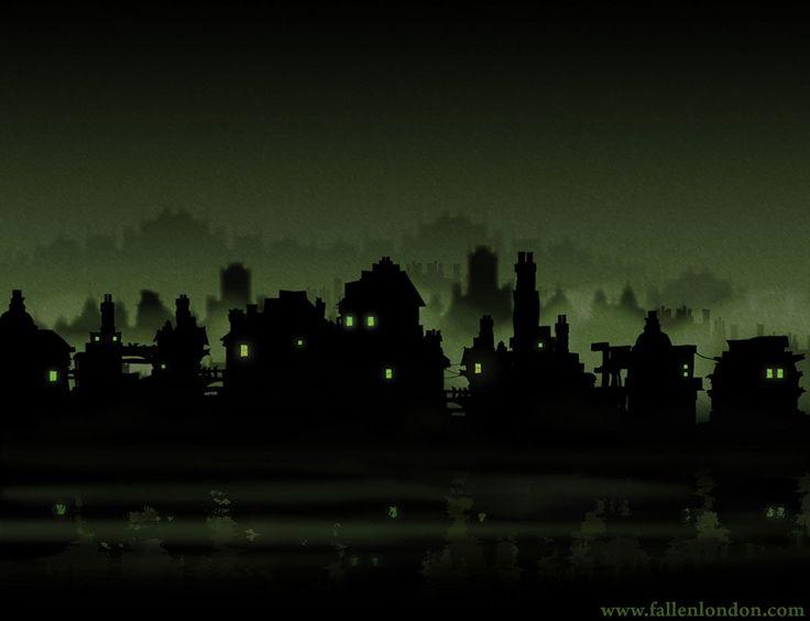 Fallen London Riverside by misterarendt Art  Buildings Pinterest 736x564