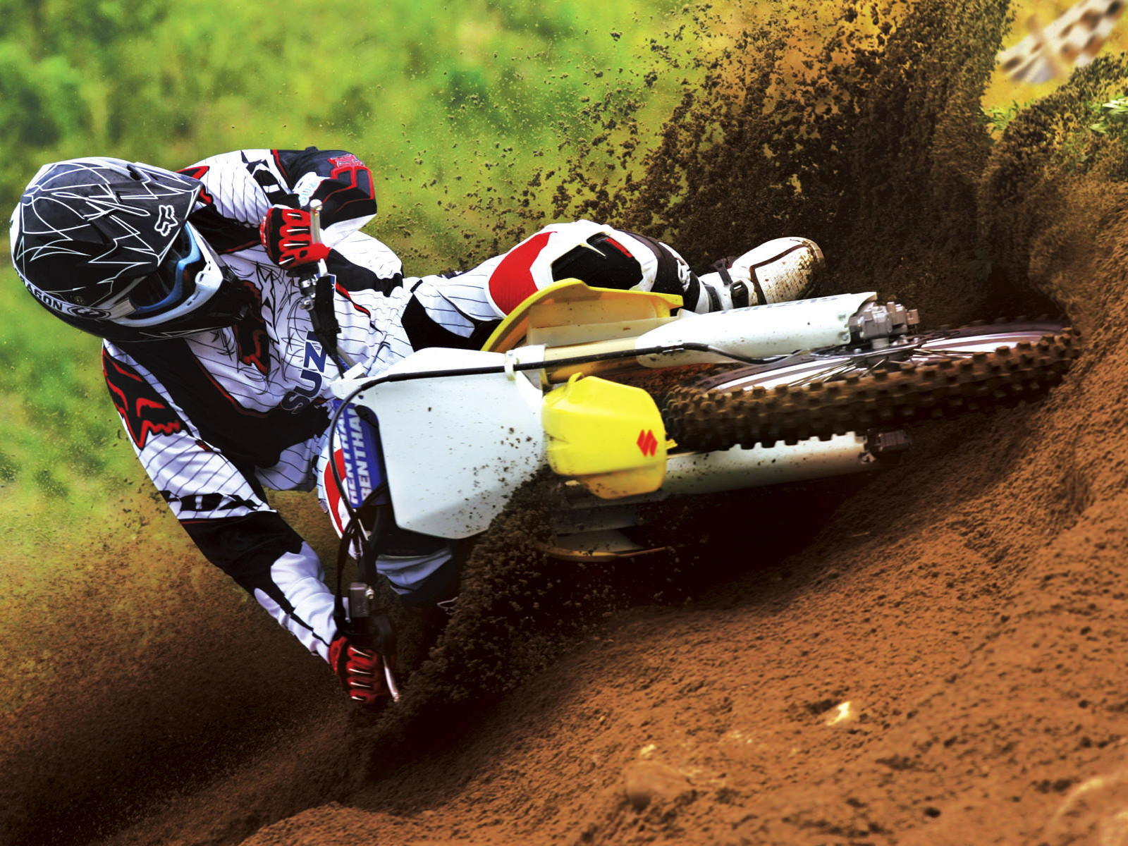 Off Road Moto Racing Wallpaper 1600x1200 1600x1200