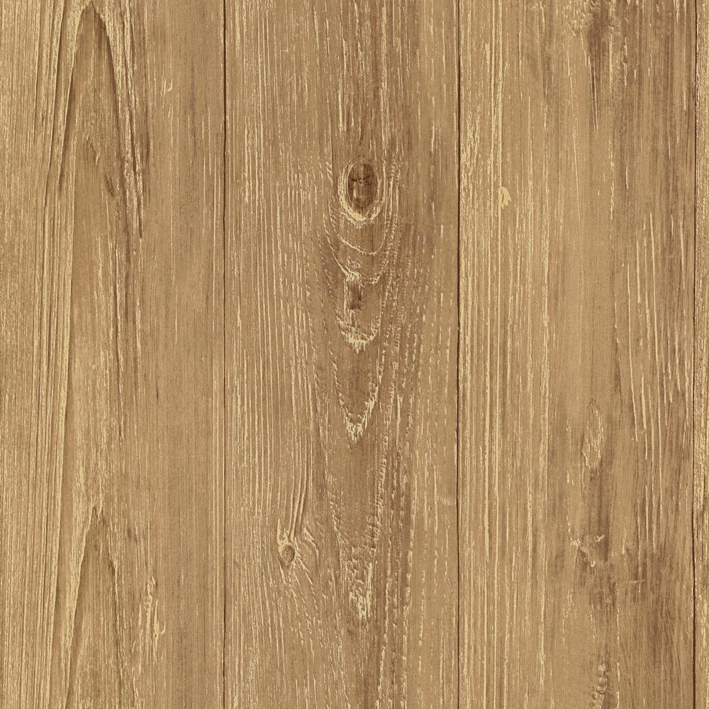 Chesapeake Cumberland Brown Faux Wood Texture Wallpaper TLL01442 1000x1000
