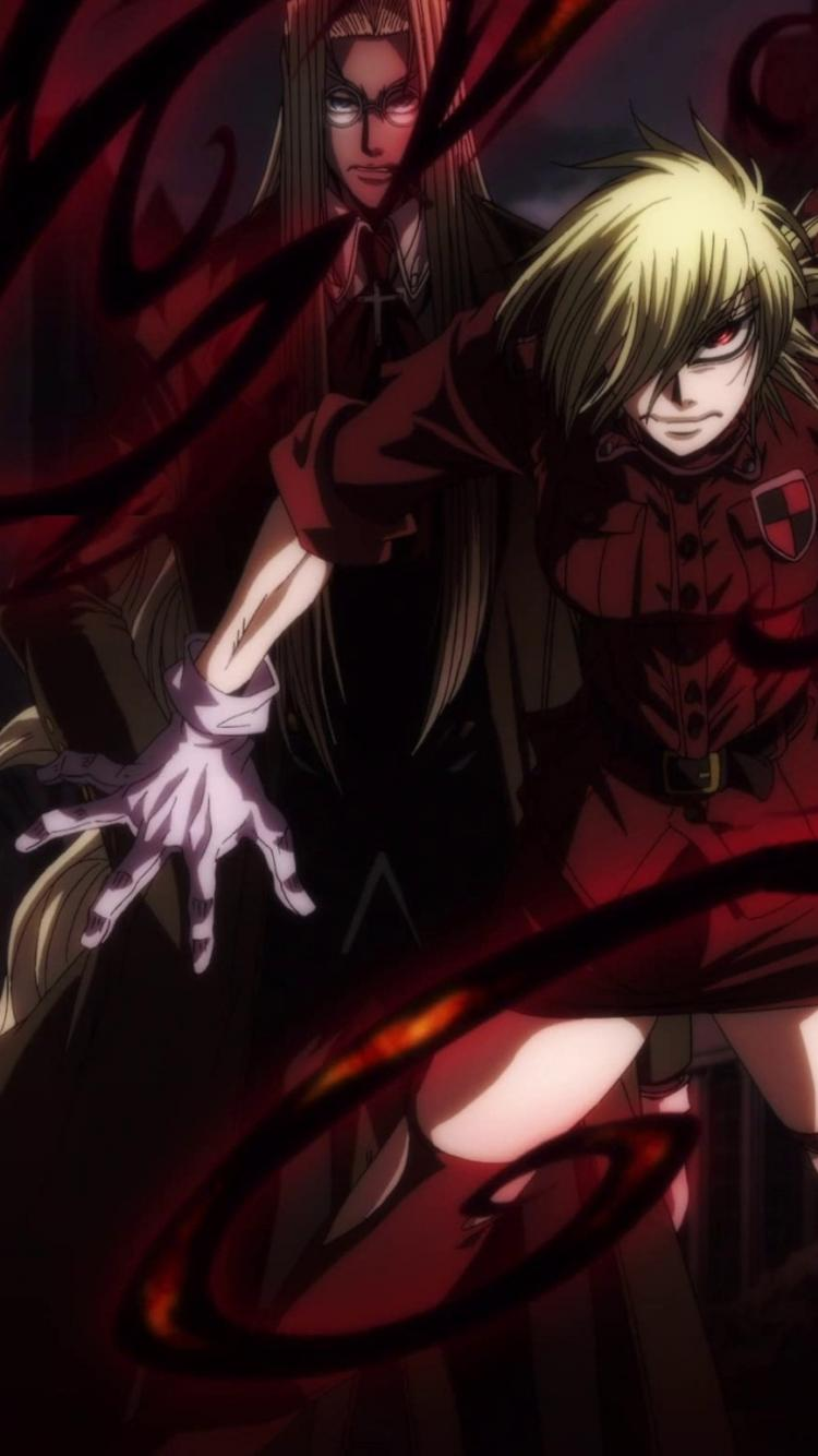 Seras victoria hellsing ultimate wallpaper 40387 750x1334