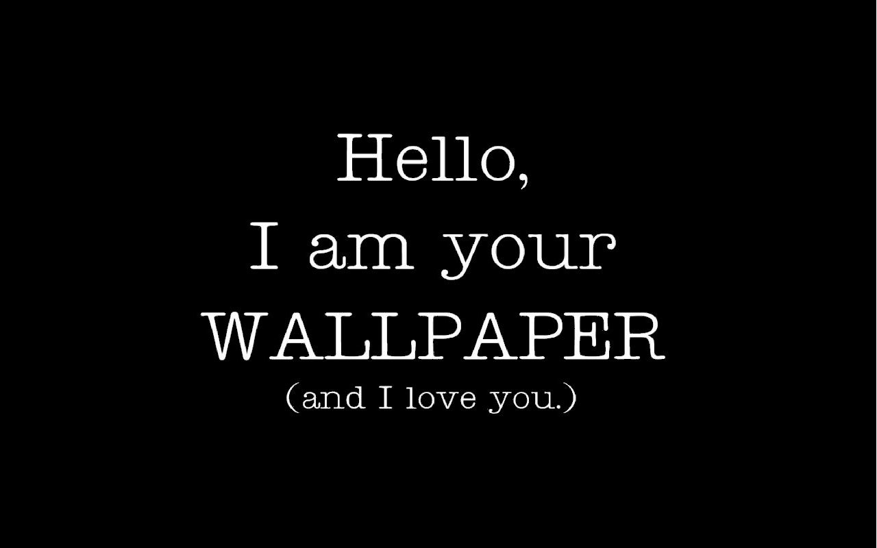 Paper Dump Hello I am your WALLPAPER and I love you 1280x800