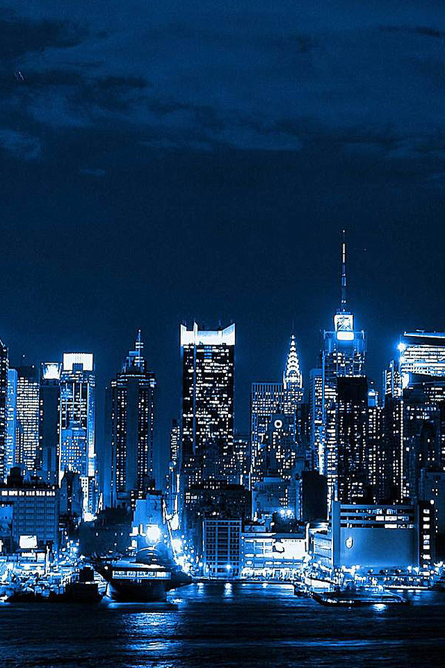 Free Download New York Night Iphone Wallpaper Hd 640x960 For Your Desktop Mobile Tablet Explore 50 New York Wallpaper For Iphone New York City Wallpaper Widescreen New York Wallpaper