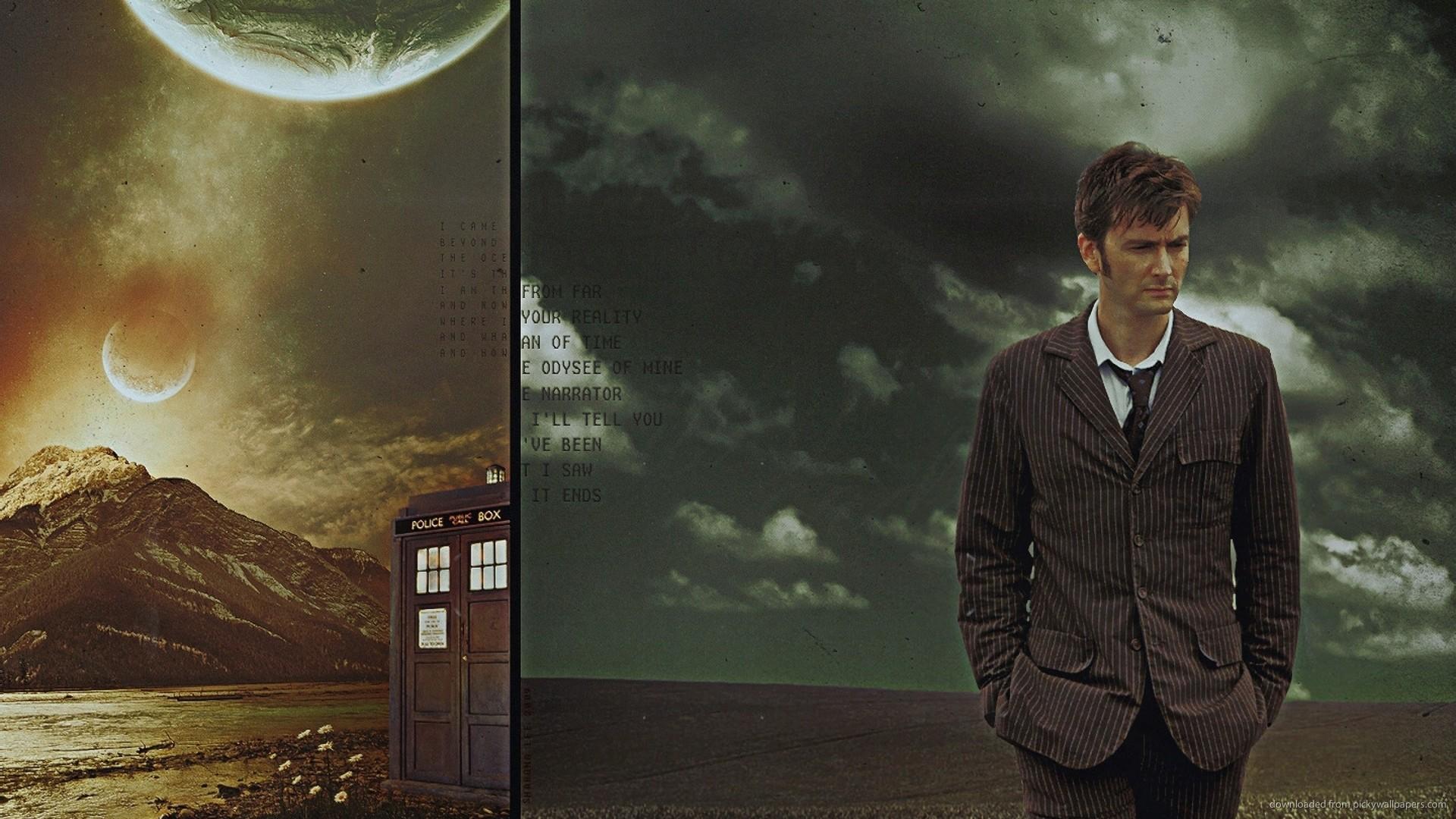 HD David Tennant Doctor Who Wallpaper 1920x1080