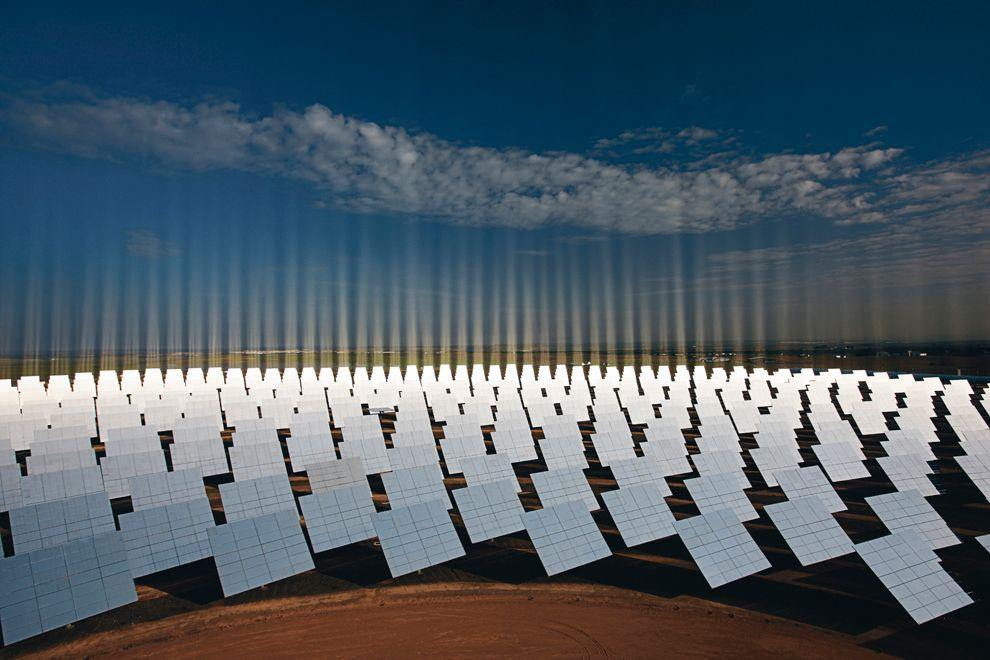 Solar Panel Wallpaper Solar panels spain 990x660